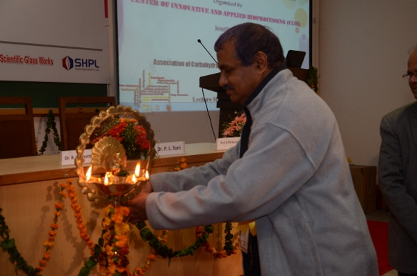 Lamp Lighting by President of ACCT(I)