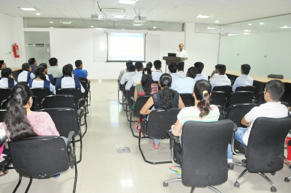 Address by CEO-CIAB, Dr. R. S. Sangwan to the students of Jawahar Navodaya Vidyalaya, Mohali