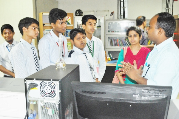 Visit by Students of JNV, Mohali to CIAB Laboratory & Interim Facility