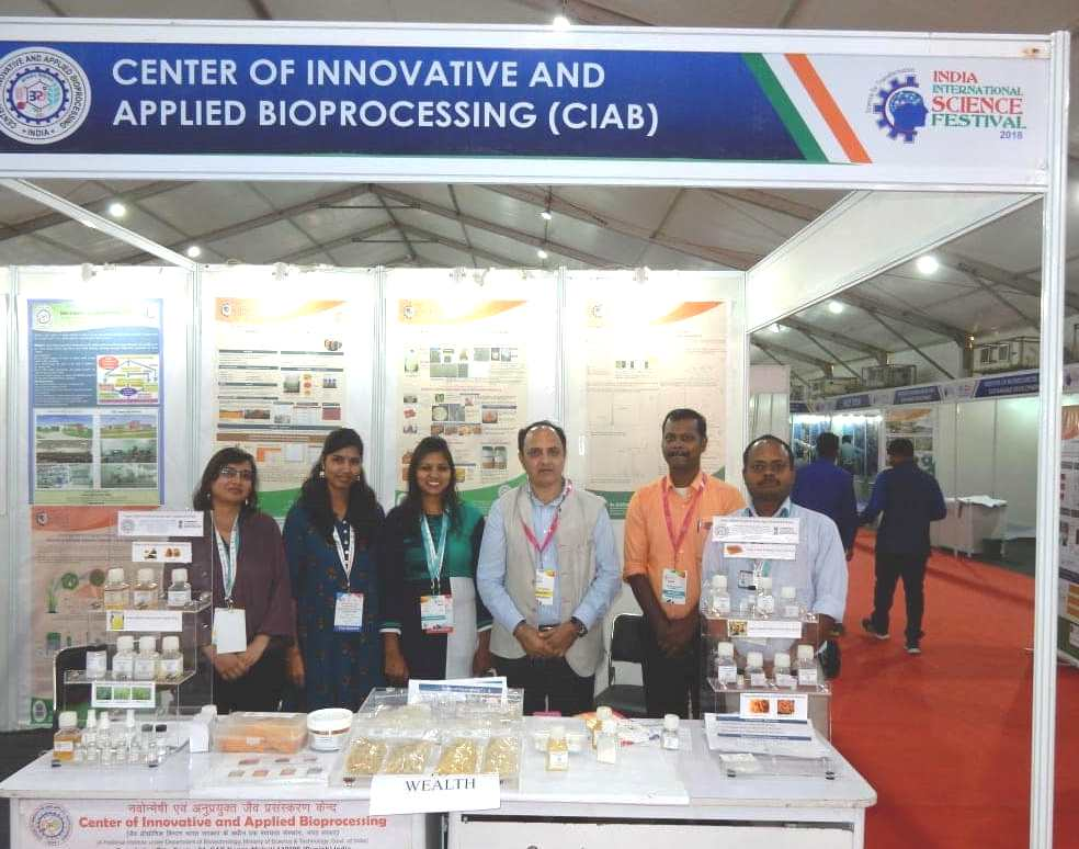 CIAB Participation at IISF-2018, Lucknow